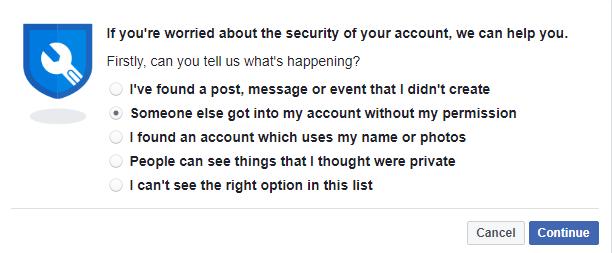 نسيت كلمة السر الفيس بوك والبريد الالكتروني