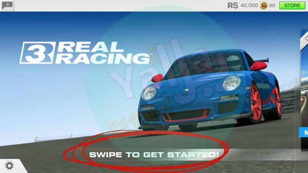 لعبة Real Racing 3 لسباق السيارات