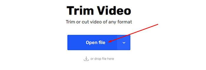 حذف أجزاء من الفيديو اون لاين
