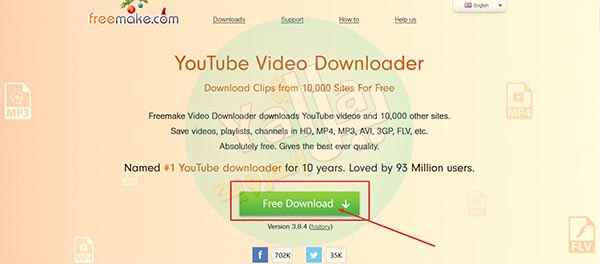 تحميل برنامج Free Make Video Downloader