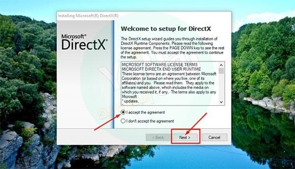 تحميل برنامج directx 12 لويندوز 10