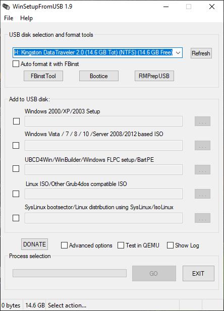 برنامج حرق أكثر من ويندوز على فلاشة واحدة